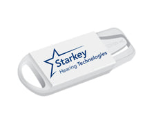Load image into Gallery viewer, Starkey Hearing Aid Battery Holder Caddy Keychain Case