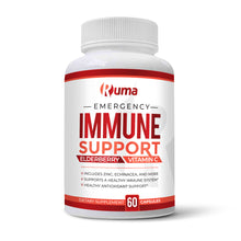 Load image into Gallery viewer, Ruma Immune Support - Immunity Booster Supplement - Vitamin C, Zinc, Elderberry, Echinacea, Garlic, Turmeric - Extra Strength Formula