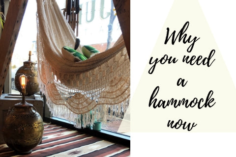 Why you need a hammock right this minute.