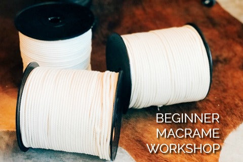 BEGINNER MACRAME CLASS - A WORKSHOP