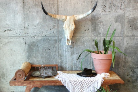 RUSTIC BOHO STYLE  - DRESS YOUR CASA