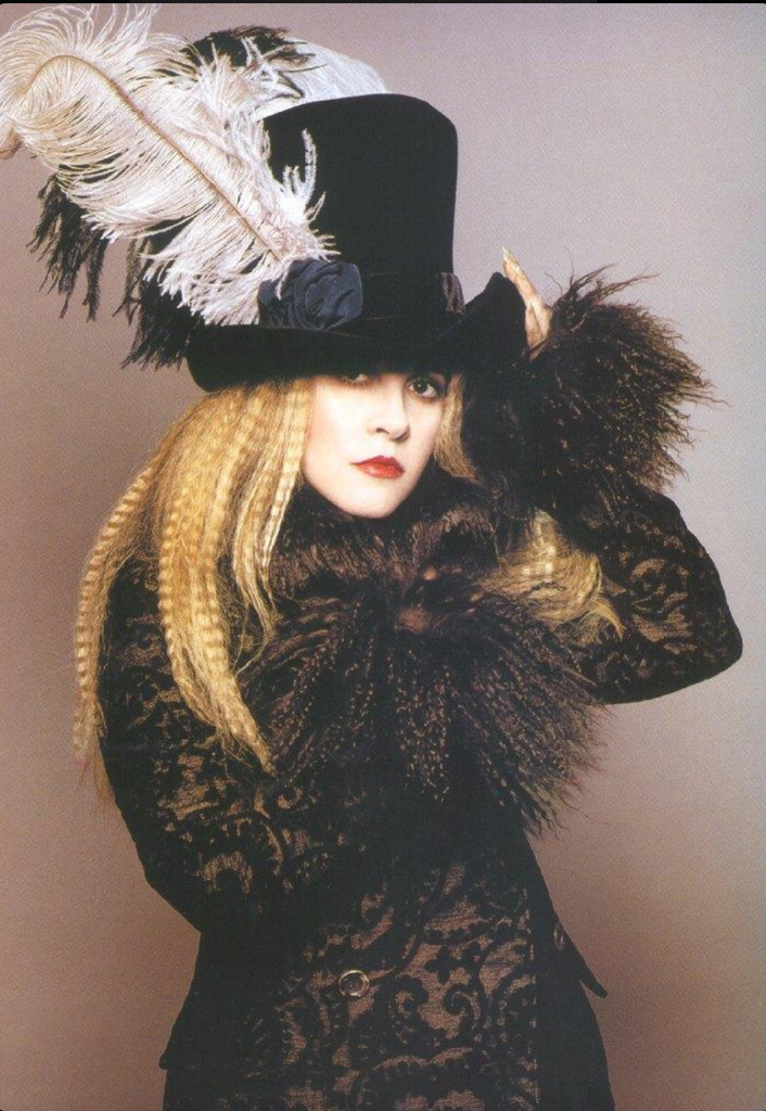 Stevie Nicks in Tophat