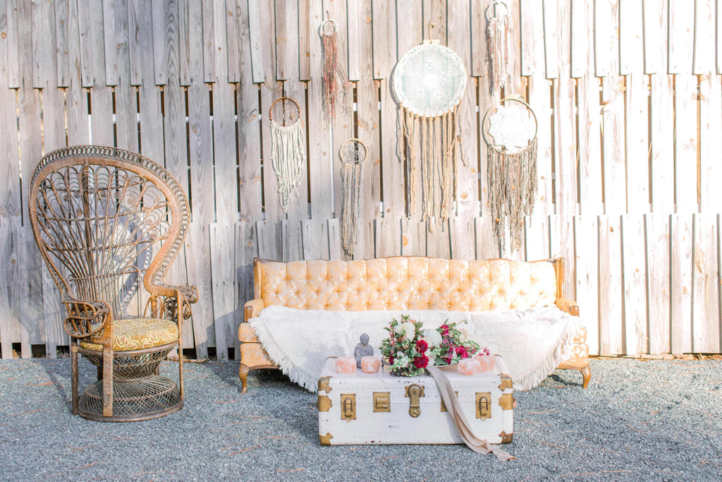 Boho Lounge Event Rental