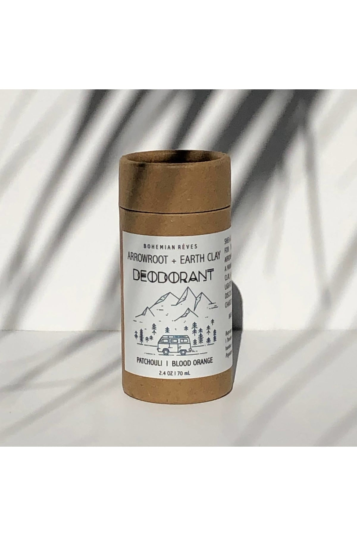 Bohemian Rêves - Arrowroot and Earth Clay Deodorant