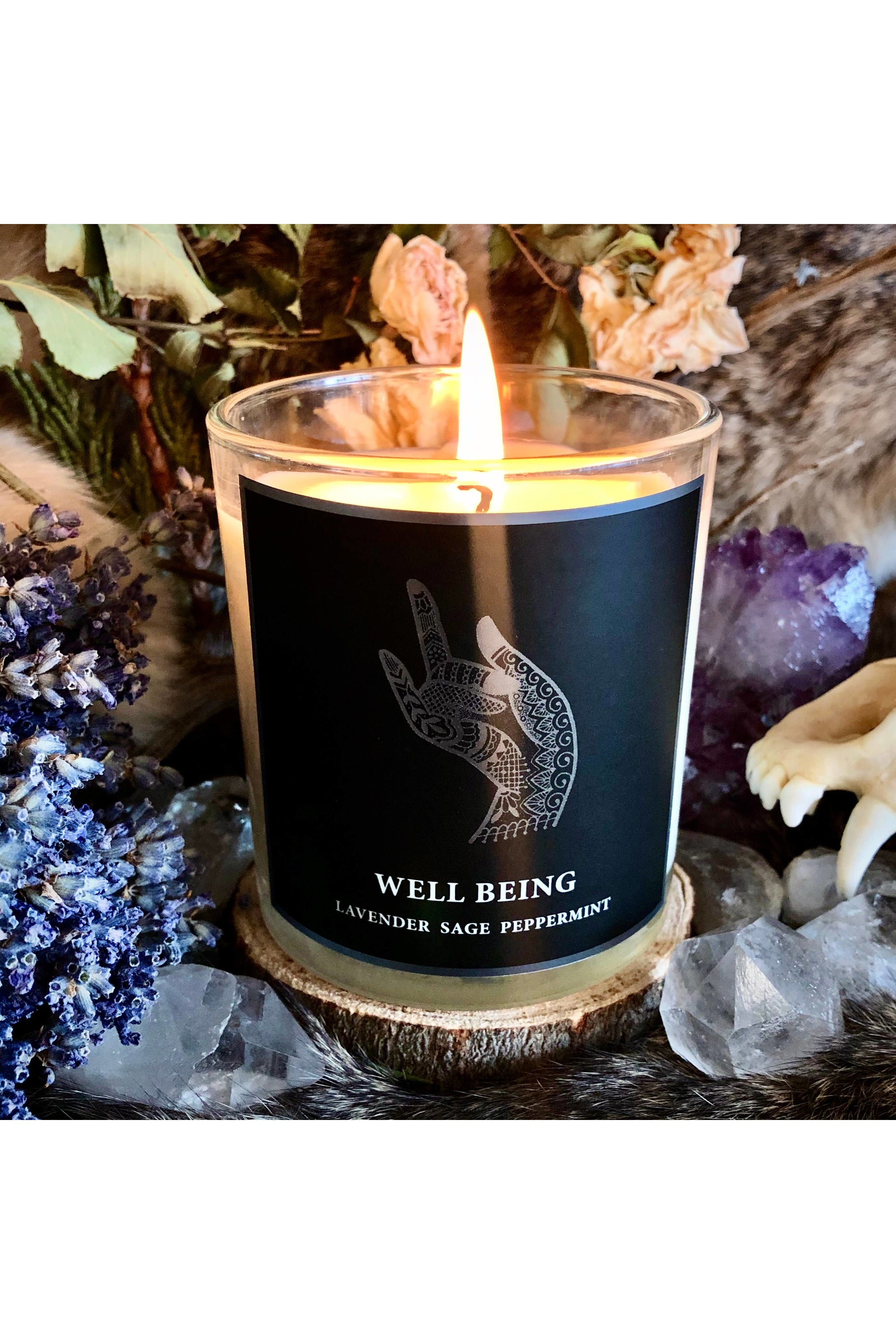 Magic Fairy Candles - 8.5oz Well Being Candle