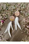 Rustic Souls - Feather Patina Earrings