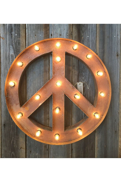 PEACE MARQUEE SIGN - EVENT RENTAL Gypsy Jule