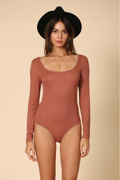 SCOOP NECK BODY SUIT Gypsy Jule