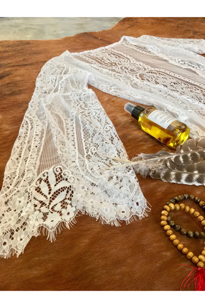 SHEER LACE DUSTER Gypsy Jule