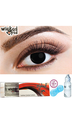30 Day Contact Lense - Black Magic