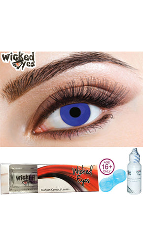30 Day Contact Lense - Electric Blue