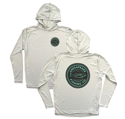 CFC Circle Hood Sun Shirt // Gray