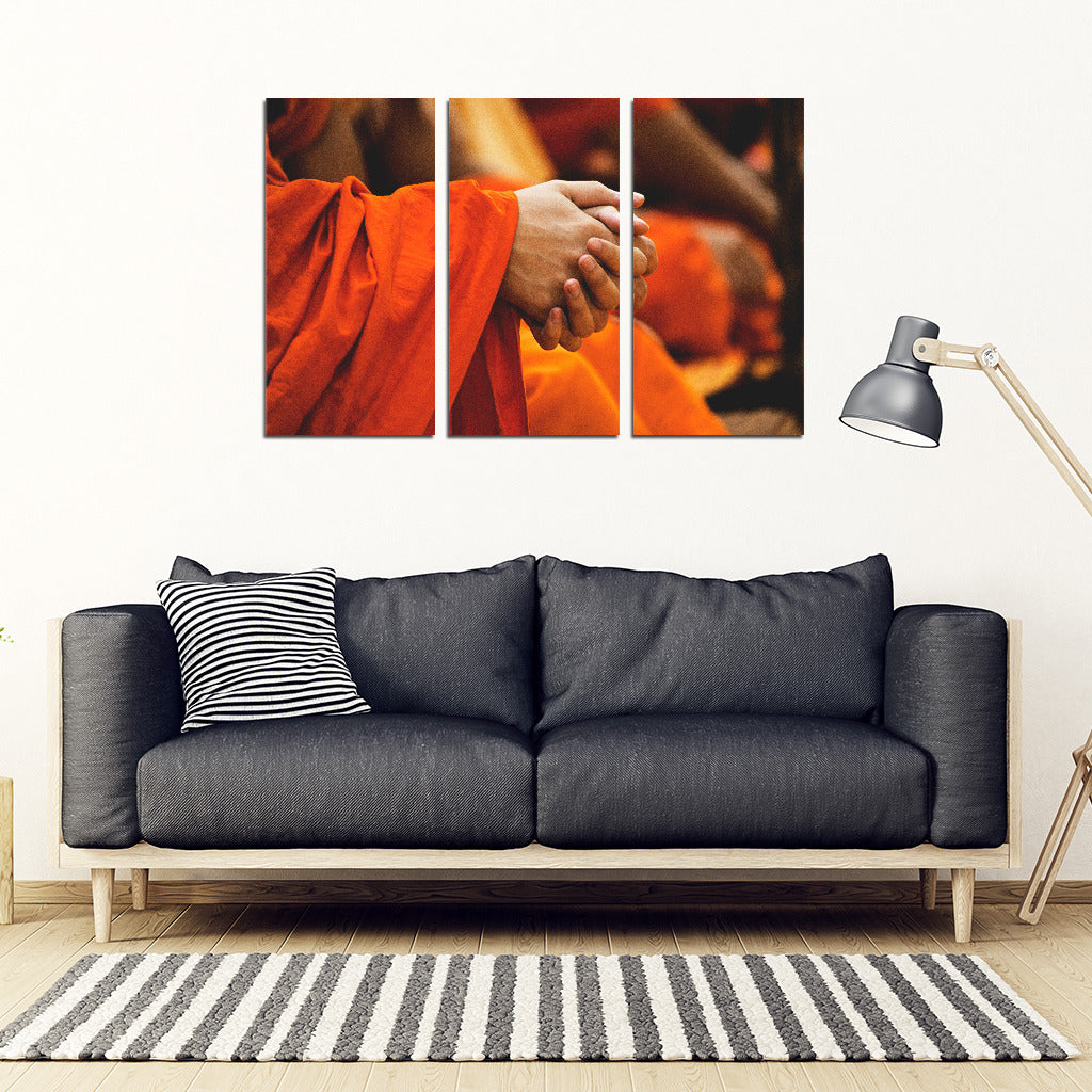 Buddha 3 Piece Wall Art