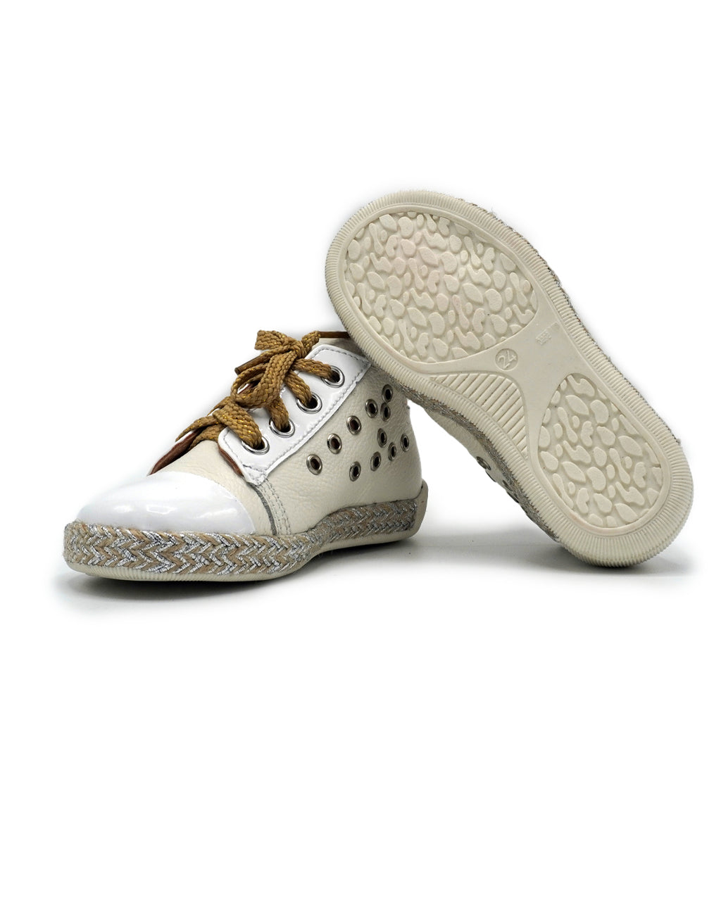 Leather Lace Up Shoes for Toddlers