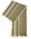 Colorful Striped Cashmere Scarf