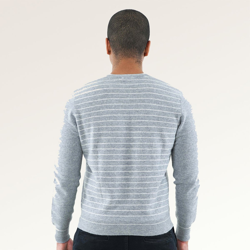 Men's V- Neck Cashmere Sweater
