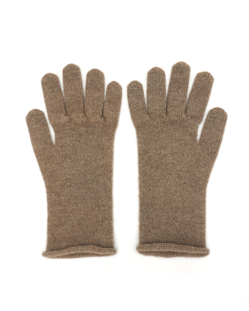 Brown Cashmere Gloves