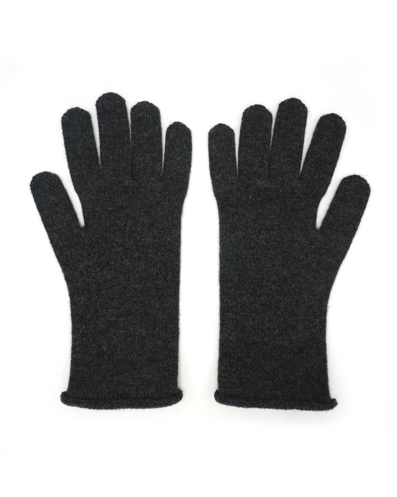 Charcoal Grey Cashmere Gloves