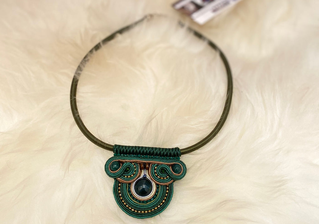 Green Handmade Necklace