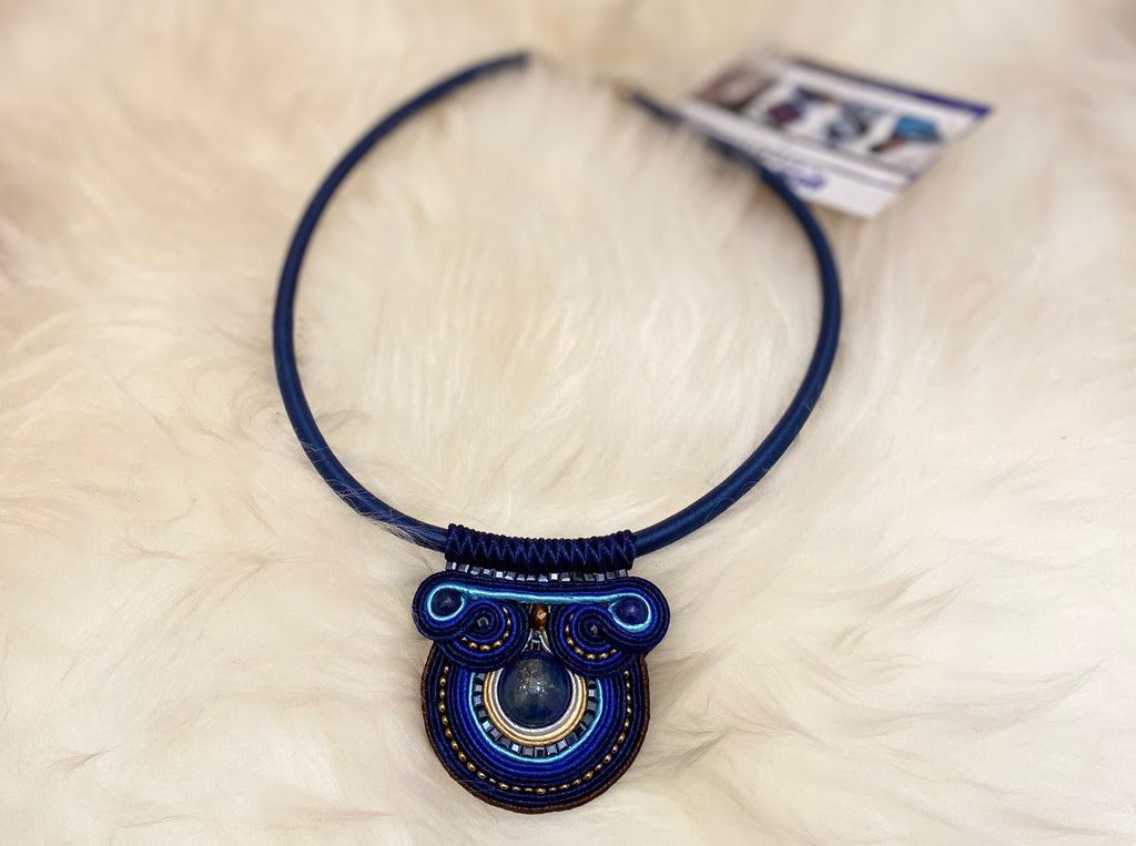 Blue Handmade Necklace