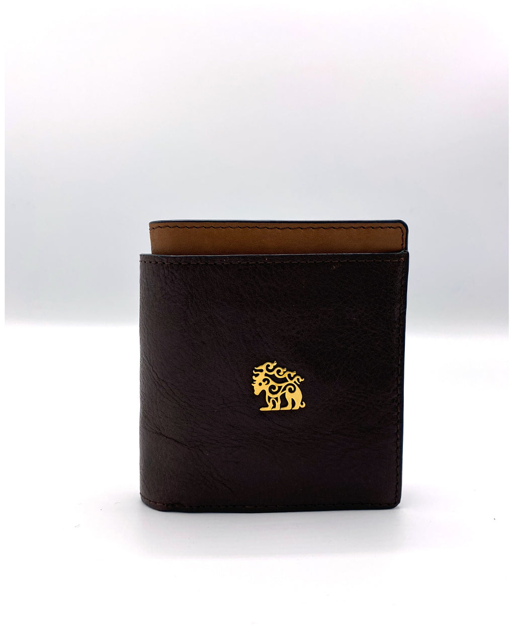 Dark Brown Leather Wallet by Maral