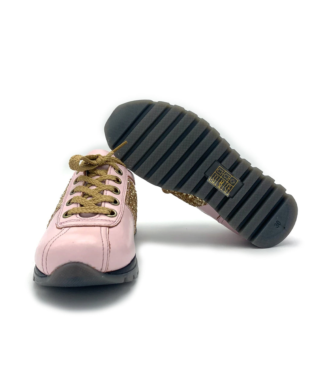Pink Leather Sneaker for Kids
