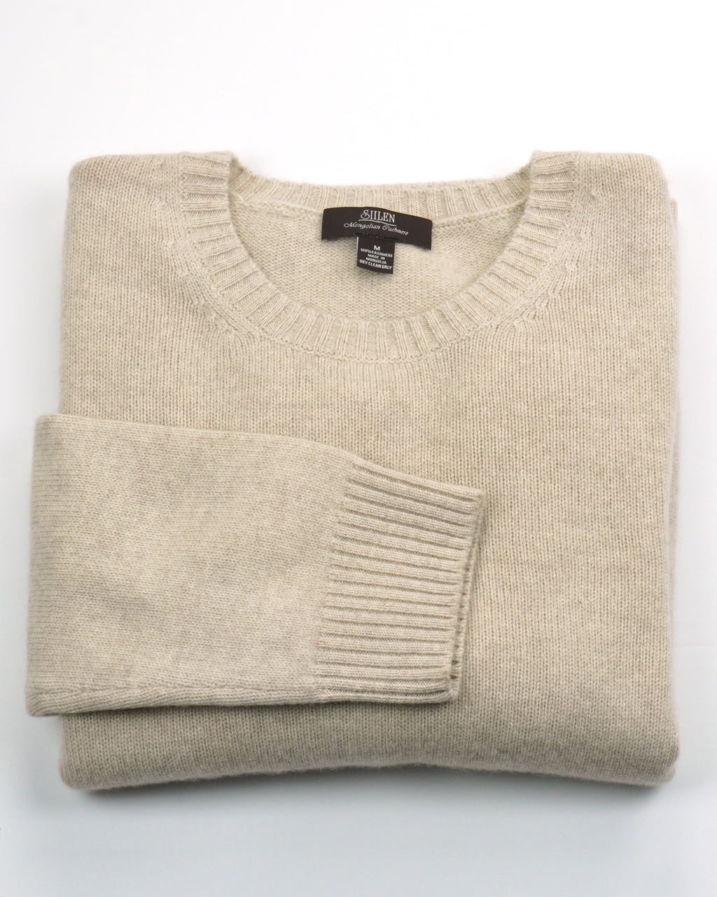 Round-neck 100 % Cashmere Sweater