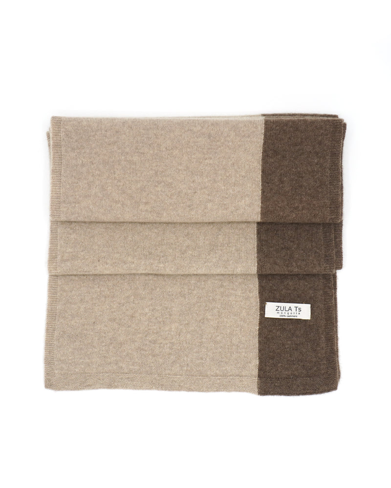 2 Color Cashmere Scarf