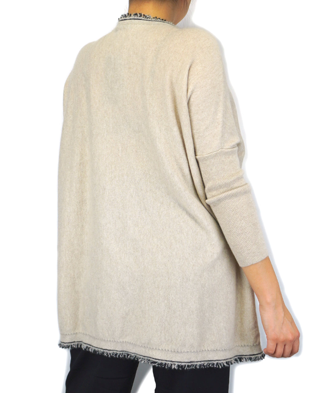 Round-neck Free Size Cashmere Sweater