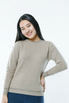 Women's Round Neck Cashmere Sweater