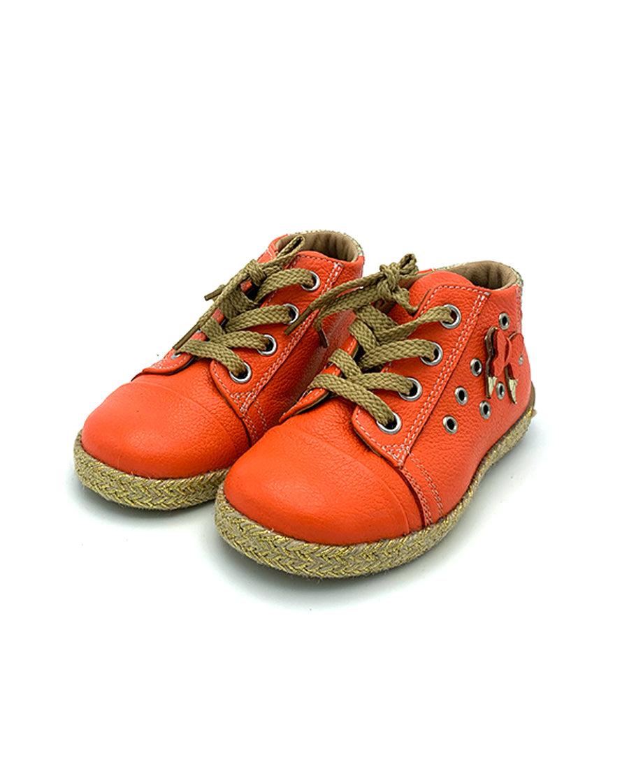 Leather Lace-up Shoes for Toddlers