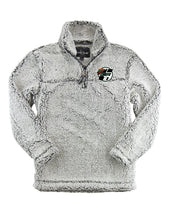 Load image into Gallery viewer, 1/4 Zip Sherpa Pullover- youth and adult