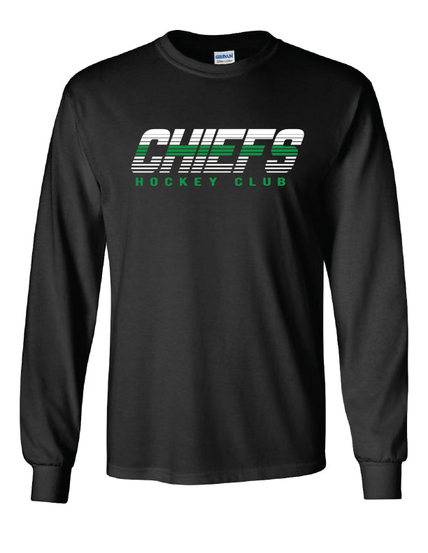 Chiefs Long Sleeve T Shirt 2018- 2019- youth and adult