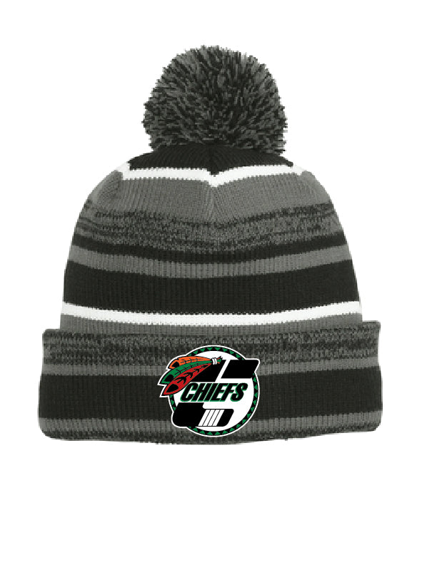 New Era Knit Pom hat