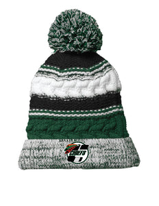 Pom Pom Team Knitted Beanie