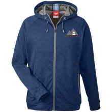 Load image into Gallery viewer, TT38 Team 365 Men's Heathered Performance Hooded Jacket