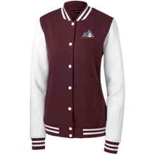 Load image into Gallery viewer, LST270 Sport-Tek Women's Fleece Letterman Jacket