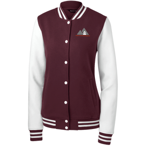 LST270 Sport-Tek Women's Fleece Letterman Jacket