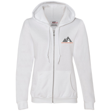Load image into Gallery viewer, 71600L Anvil Ladies Full-Zip Hooded Fleece
