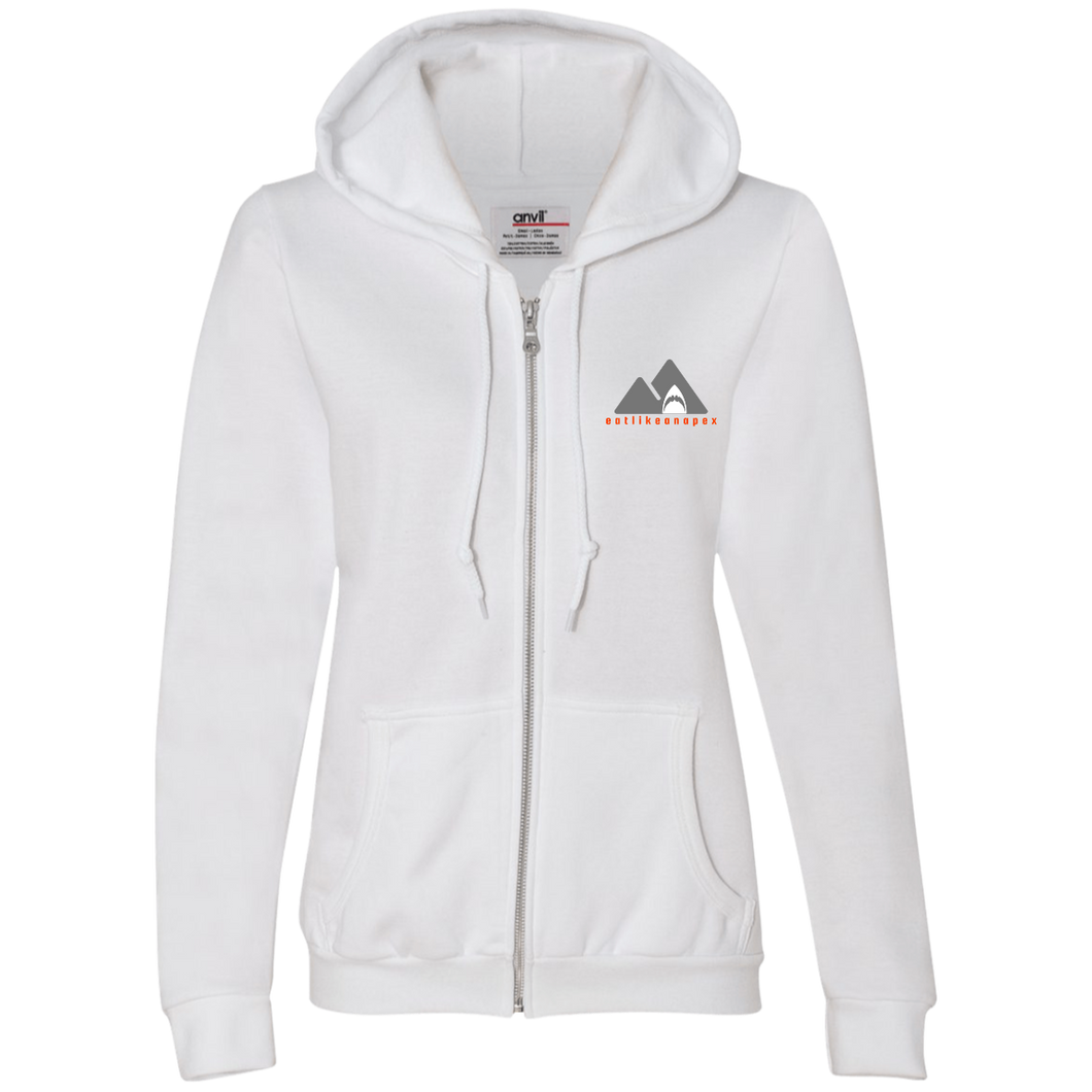 71600L Anvil Ladies Full-Zip Hooded Fleece