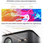 Dangbei F3 3D Home Projector 4K Engine Pro 2050 ANSI Lumens