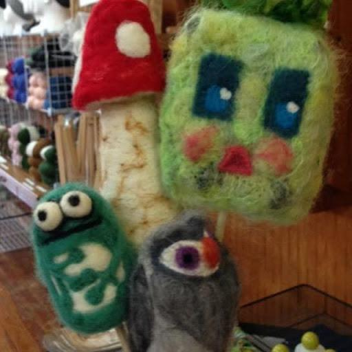 Create a Creature needle felting class | Monday, August 24, 2020 at 6 pm Central Stab things into existence