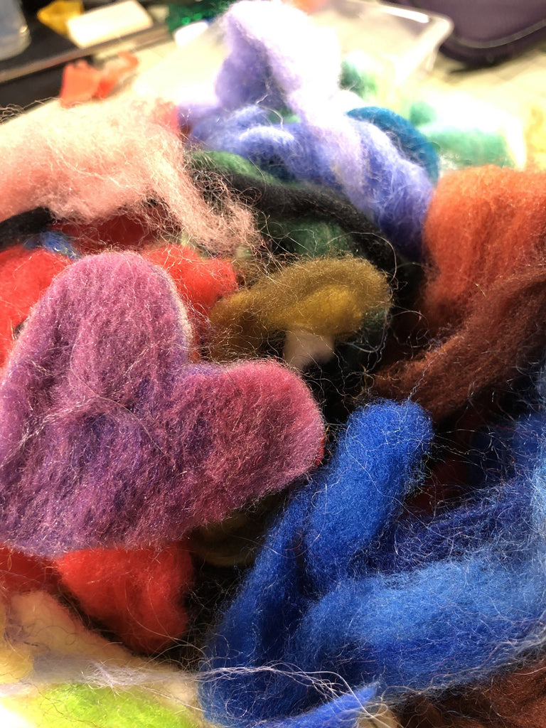 Bits & Stuff - Fiber Assortment Felting Kit Anna Walker