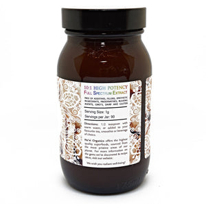 Full Spectrum Astragalus Root Extract Powder - Superior Quality - Na'vi Organics Ltd