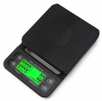 Digital Scale With Timer Batteries Included