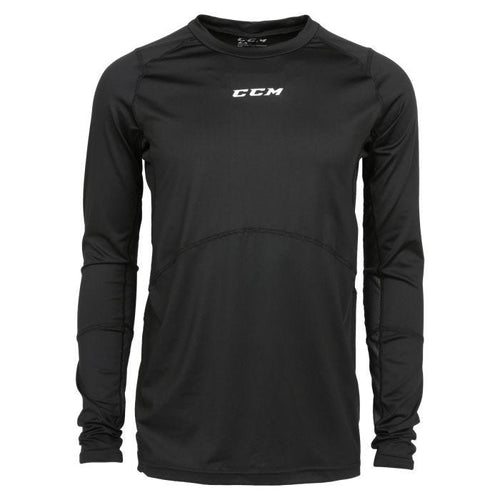 CCM LS Compression Shirt w/Grip