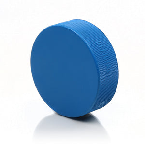 Howies Blue 4oz Hockey Puck