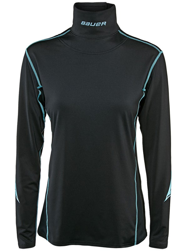 Bauer Womens Integrated Neck Base Layer Top