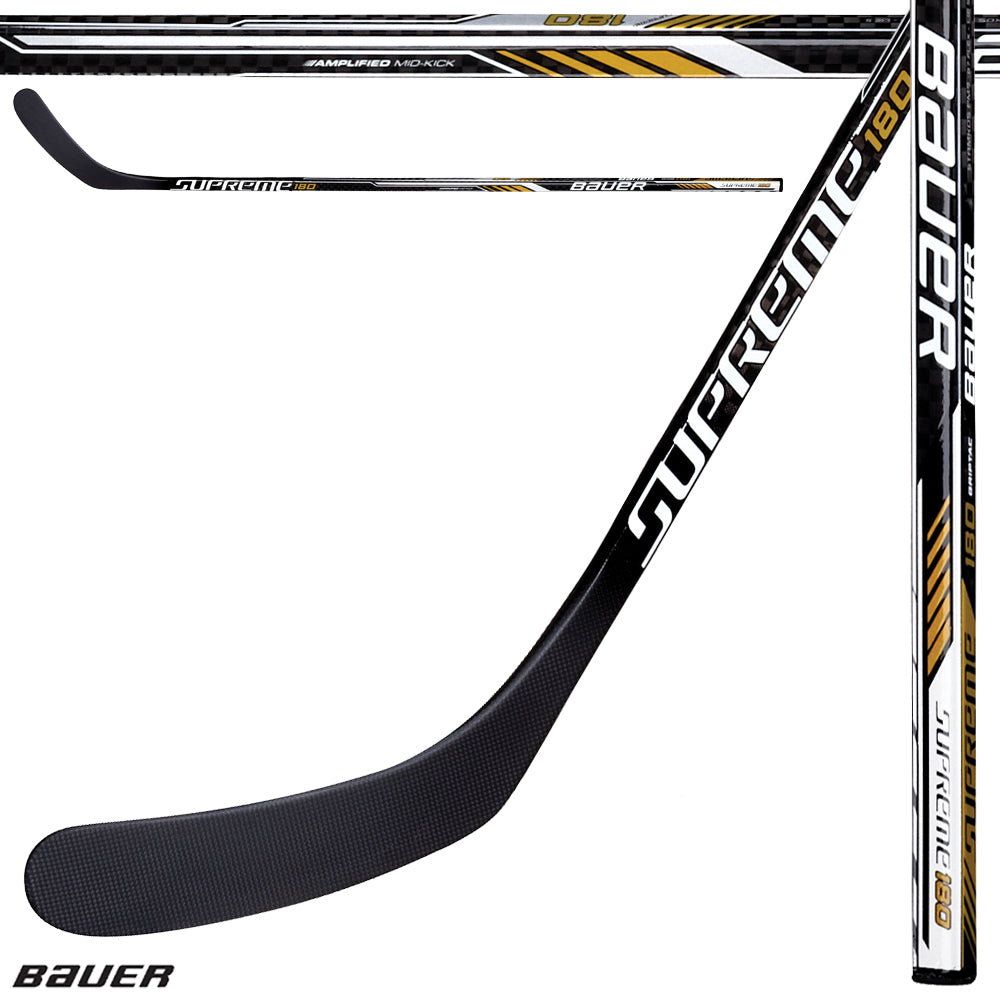 BAUER SUPREME S180 GRIPTAC SENIOR STICK 2017 MODEL