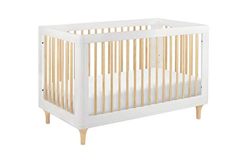 3-in-1 Convertible Crib with Toddler Rail